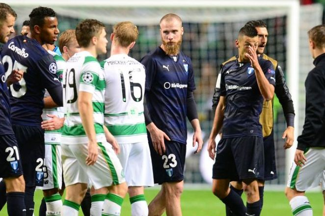 Malmö vs Celtic Glasgow barrage LDC 2015-2016 dailyrecord.co.uk