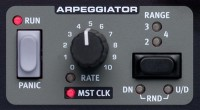Arpeggiator Section