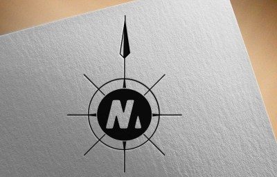nm - Logo on paper