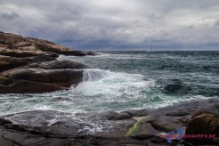 Das Meer sieht wie Schlagsahne aus...