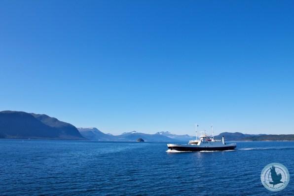 Fähre kurz vor Ålesund