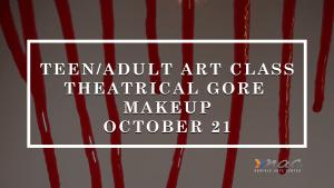 Theatrical Gore Makeup @ Norfolk Arts Center