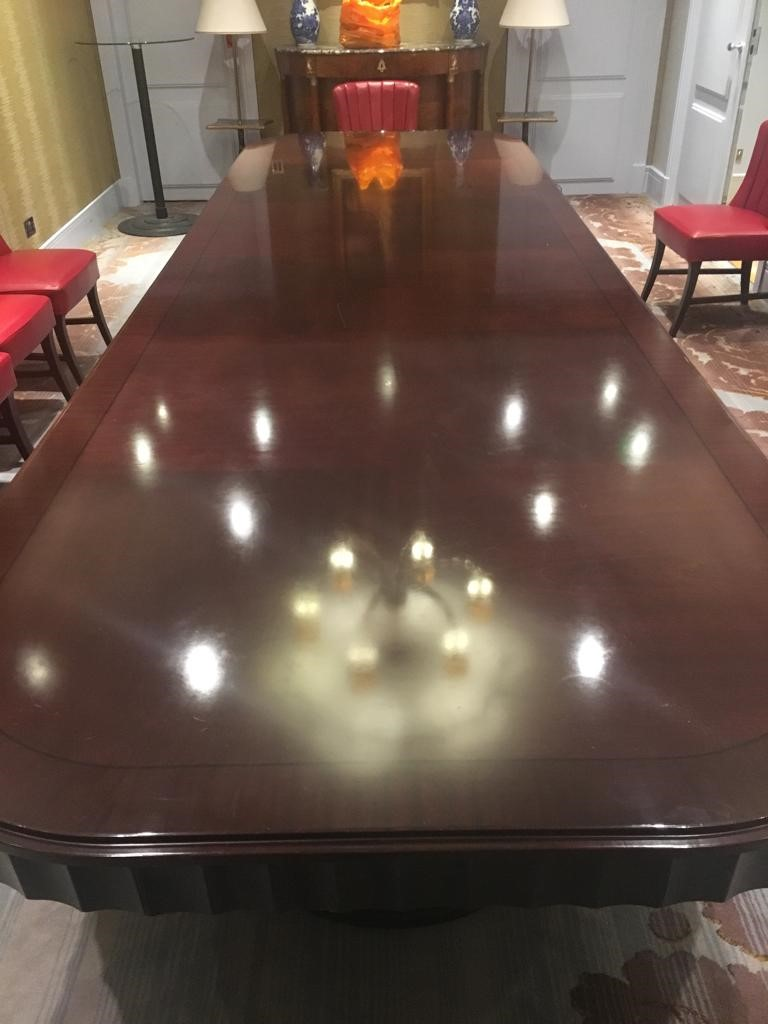 boardroom table repaired