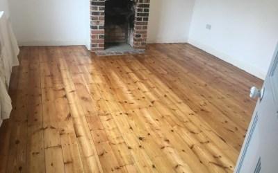 Fakenham pinewood floor