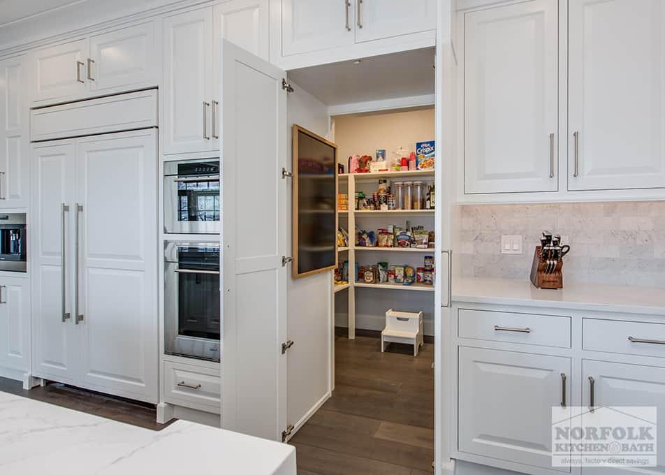 Batamhousing.com kitchen designs are increasingly important; Custom White Kitchen With Quartz   Norfolk Kitchen & Bath