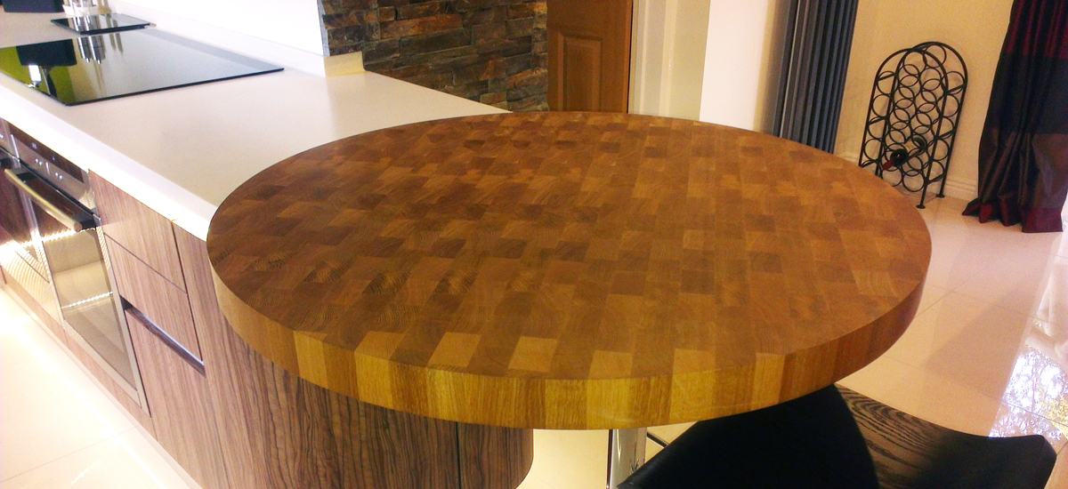 End Grain Worktops Norfolk Oak