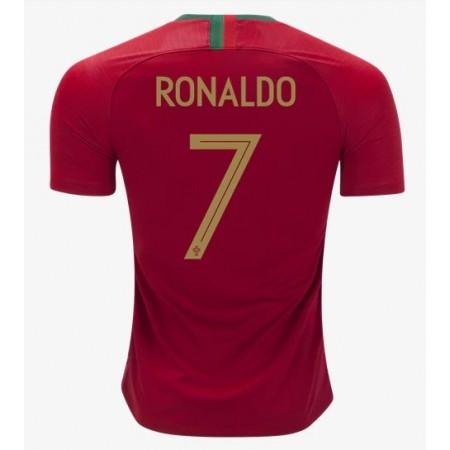 eed9be6b Portugal 2018 Cristiano Ronaldo 7 Landslagsdrakt Kortermet Hjemme  Fotballdrakter