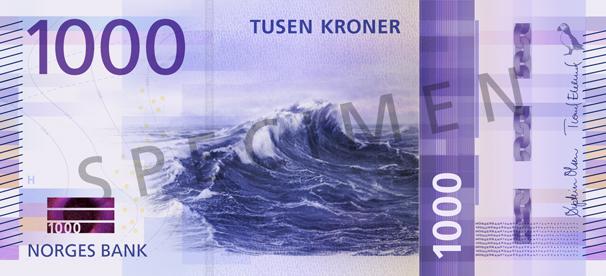 Ny 1000 Kroneseddel