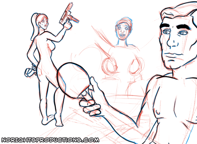 Daily Doodle - 11-23-14 - Archer