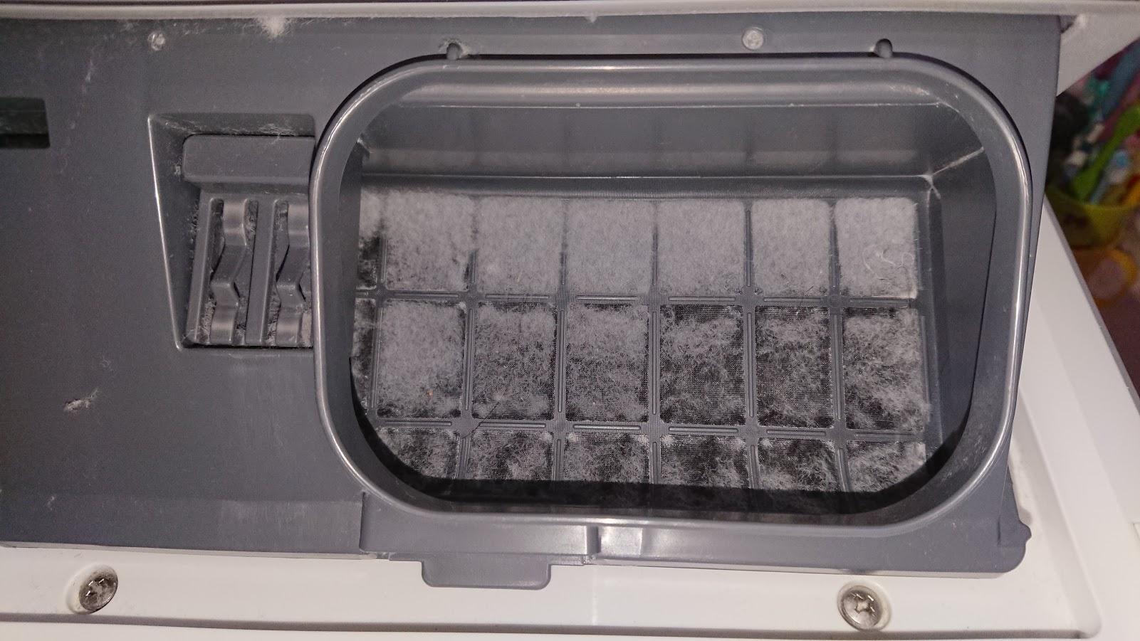 ドラム式洗濯乾燥機のお手入れ-1
