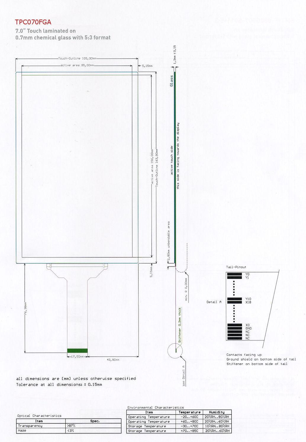 Ismart Noritake Itron 3 5 Tft Module