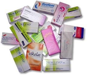 Distintas marcas de los fármacos abortivos y con graves efectos secundarios que el gobierno de España va a liberalizar.