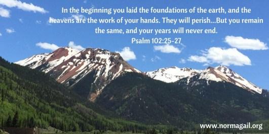 Afflicted scripture