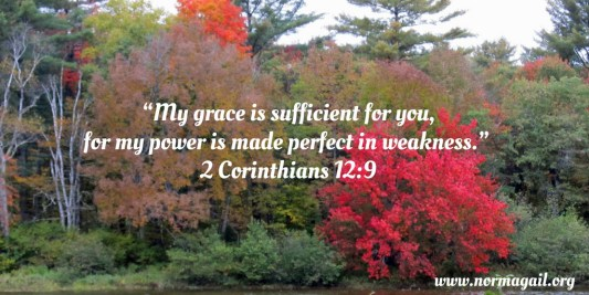 Sufficient Grace scripture