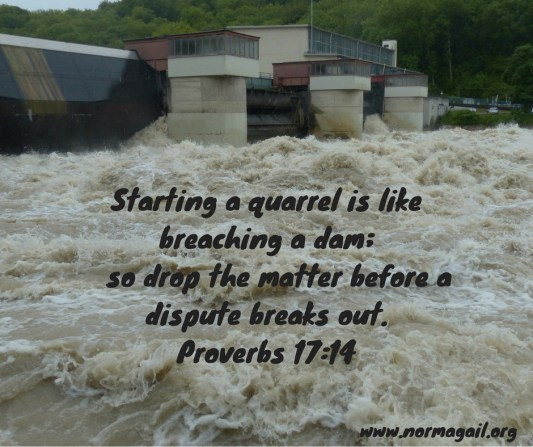Harsh Words scripture