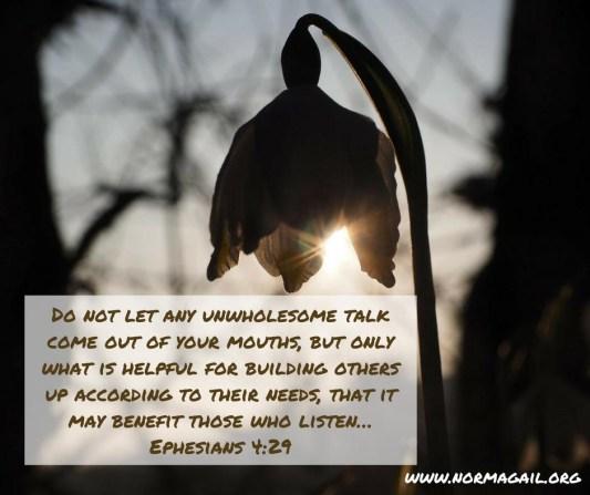 Kind Words scripture