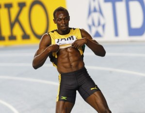 Usain Bolt's Sixpack