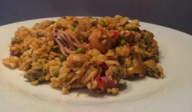 paella recept kip en vis