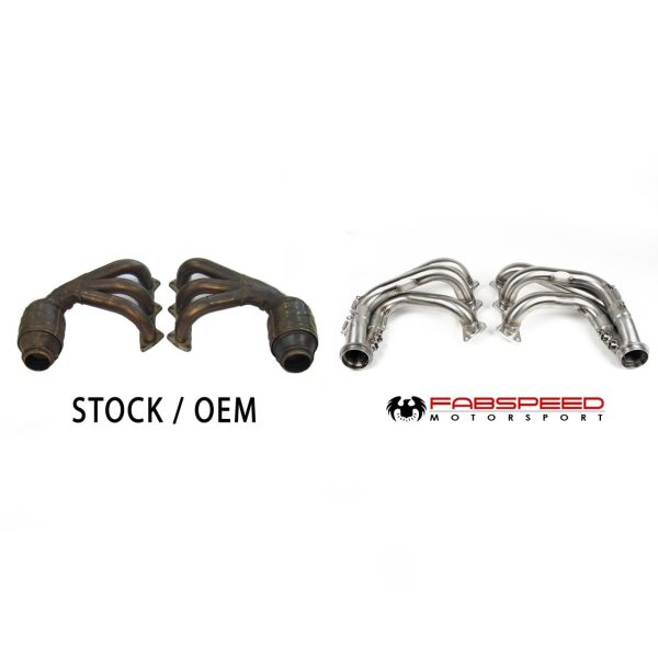 Porsche 997 / 997.2 GT3 RS Long Tube Race Competition Headers