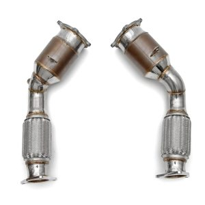 Porsche 955 Turbo / Turbo S Primary Sport Catalytic Converters (2002-2007)