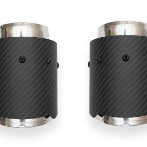 McLaren 570S / 570GT / 540C Deluxe Bolt-On Dual Carbon Fiber Tips