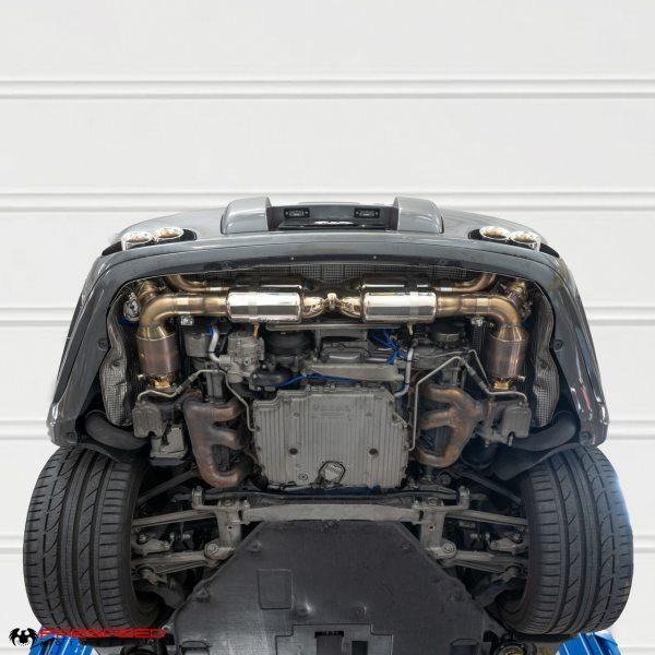 Porsche 997.2 Turbo / Turbo S Valvetronic Supersport X-Pipe Exhaust System (2010-2012)