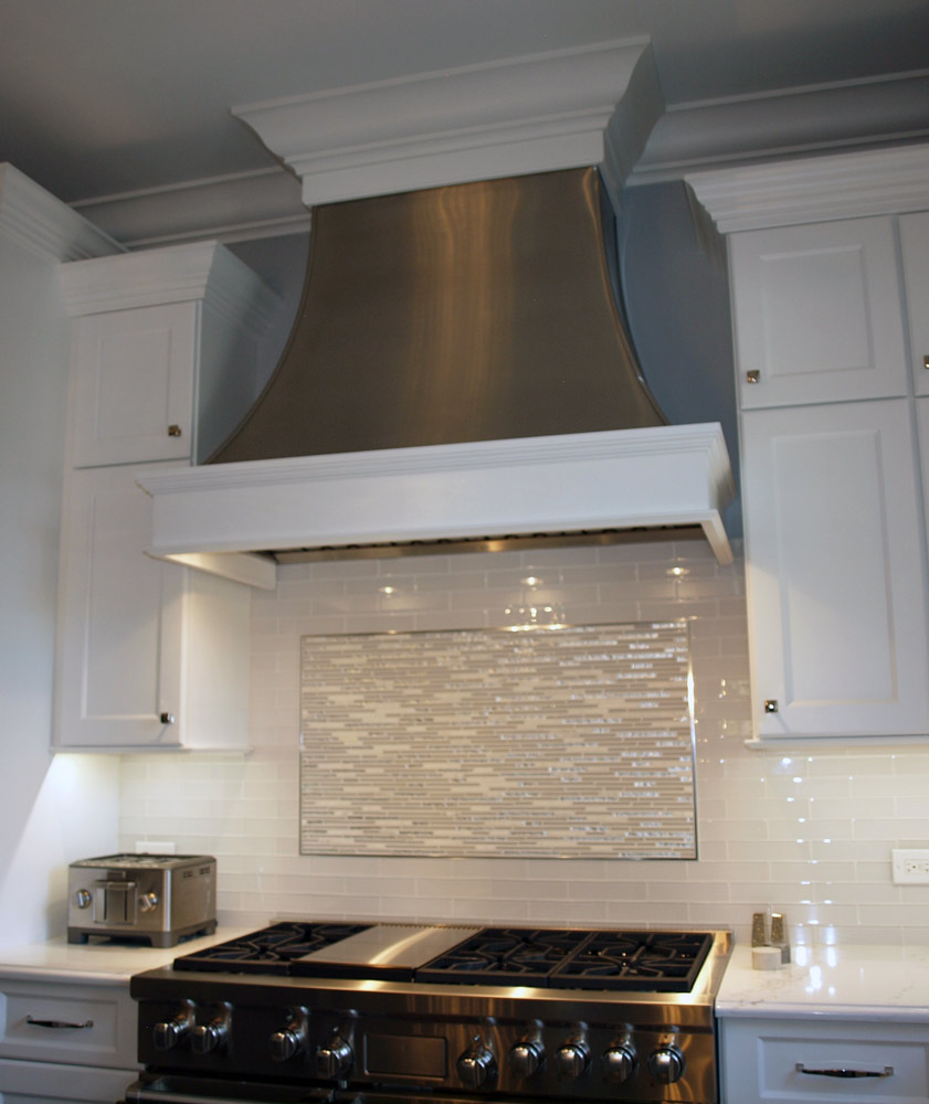 Up To The Minute Kitchen Ideas Metal Range Hoods