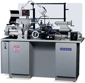 "Sharp 11"" x 18"" High Precision Tool Room Lathe, 1118H"