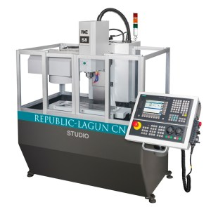 "Republic Lagun 3-Axis CNC Vertical Machining Center with Fagor Control, Studio Mill ""S8"""