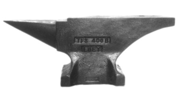 Pieh Blacksmith Tools 400 lbs. Single-Horn Blacksmith Anvil