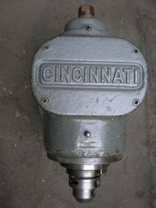 Cincinnati #3 Heavy Duty Vertical Milling Attachment