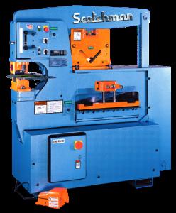 Scotchman 65 Ton 3-Station Hydraulic Ironworker, 6509-24M
