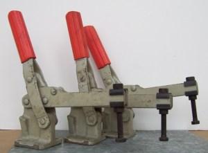 Universal Uni Klamp Set Of (2) Horizontal Clamps