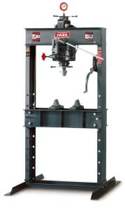Dake 150 Ton Hand Operated Hydraulic H-Frame Press, 150H