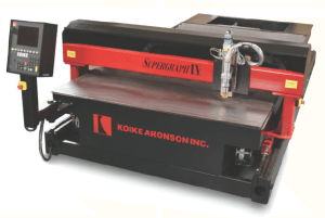Koike Aronson Supergraph IV Series Cnc Plasma Cutting Machine