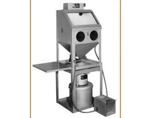 "Trinco 20"" x 18"" Dry-Blast Sandblaster Cabinet And Dust Collector, Bench Model"