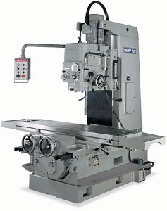 "Sharp 15"" x 40"" Heavy Duty Bed-Type Vertical Mill, KMA-1"