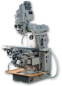"Sharp  51"" x 11"" Vertical / Horizontal Milling Machine, VH-3"
