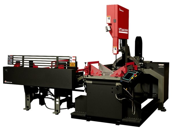 """Amada Marvel 20"""" x 50"""" Heavy-Duty High-Speed Band Saw with Programmable Control and Servo Shuttle, VT5063SW (Formerly 2150APCS)"""