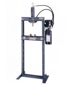 Dake 10 Ton H-Frame Hydraulic Press, Electrically Operated, Force 10DA
