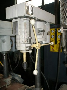 """Powermatic 15"""" Bench Model Drill Press Head Only"""