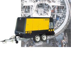 Kaeser Portable Mobilair™ Series Air Compressors
