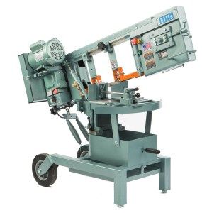 "Ellis 10"" Horizontal Double Miter Swivel Head Band Saw, 1500"