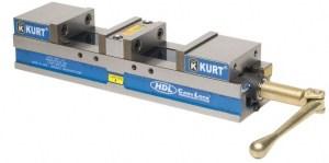 """Kurt 6"""" Double Lock Manual Vise with Hard Jaw Kit, HDL6J"""
