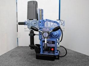 "Nitto Kohki 1 3/8"" x 2"" Semi-Automatic Feed Magnetic Drill, WA-3500"