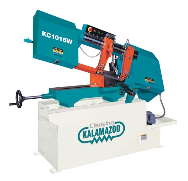 "Clausing Kalamazoo 10"" Wet Cutting Horizontal Band Saw, KC1016VS"