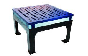 Weldsale 4' x 4' Platen Welding Table with Heavy Duty Steel Stand, WSC-44B