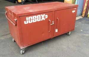 Jobox Jobsite Steel Storage Box, 671990