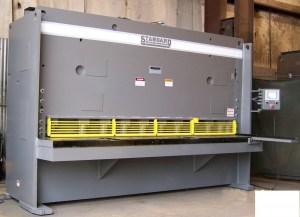 """Standard Industrial 8' x 1/2"""" Hydraulic Shear, AS500-8"""