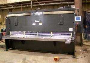 """Standard Industrial 8' x 3/8"""" Hydraulic Shear, AS375-8"""